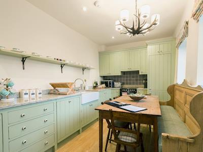 Luxury kitchen/diner with granite worktops   Wharfe View Cottage, Bolton Abbey, near Skipton