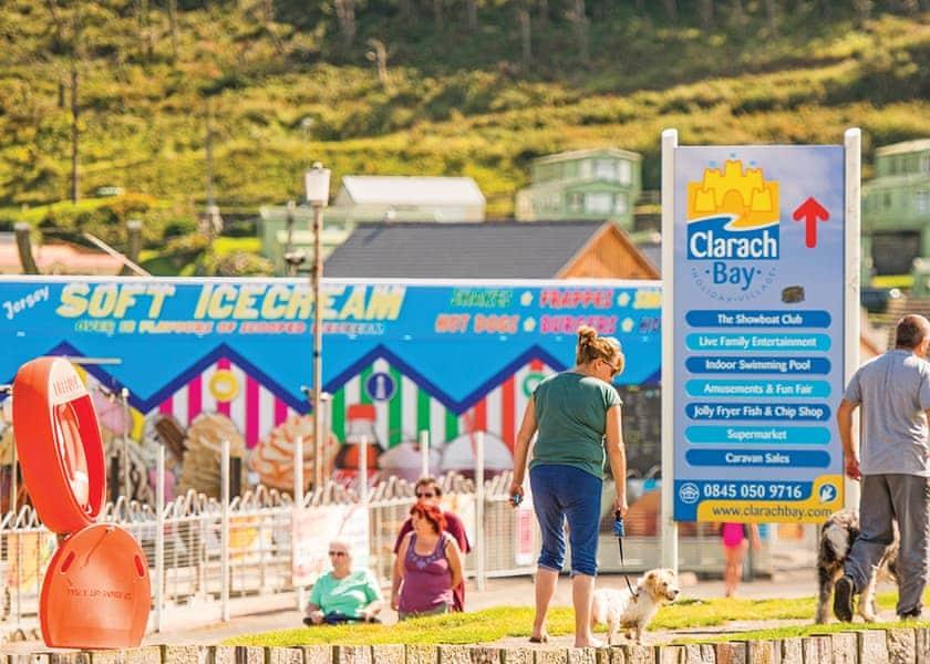 The park setting | Clarach Bay Holiday Village, Clarach Bay, Nr Aberystwyth