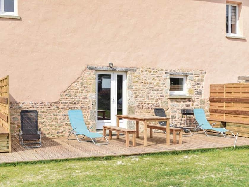 Outdoor area | Cottage 1 - Les Cottages de la Ferme, Sainteny