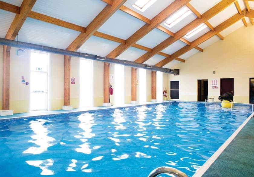 Indoor heated swimming pool at Auchenlarie
