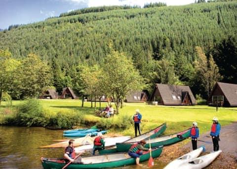Great Glen Water Park Lodges Highlands