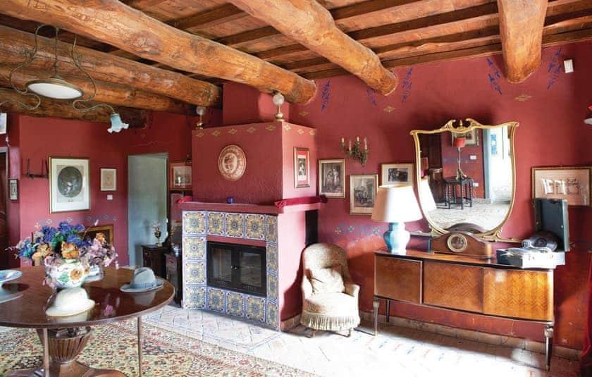 Living area   Villa Montefiascone, Montefiascone