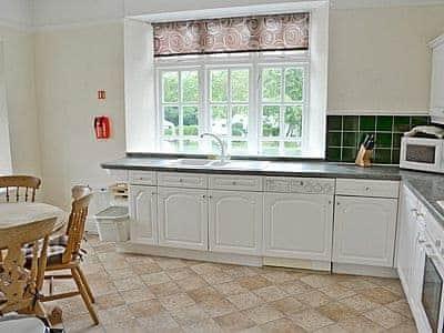 Kitchen/diner | Balcony Flat 2, Meathop, nr. Grange-over-Sands