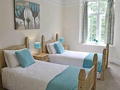Twin bedroom | Balcony Flat 2, Meathop, nr. Grange-over-Sands