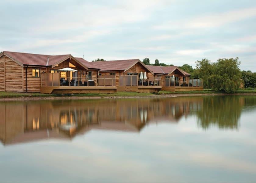 The lodge setting